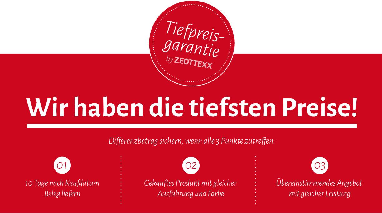 ZEOTTEXX Gartenmöbel und Matratzen Tiefpreisgarantie