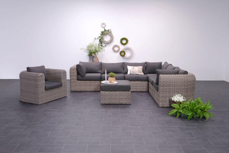 Garten loungemöbel polyrattan  Moderne Polyrattan Loungemöbel und Loungegarnituren › ZEOTTEXX ...