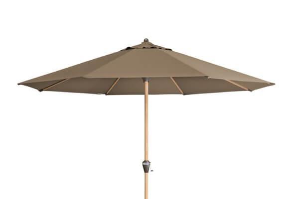 Sonnenschirm mit Holz, sehr groß