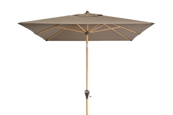 Sonnenschirm mit Holz in braun