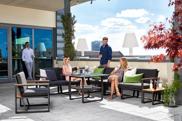 SIEGER HAVANNA Lounge mit Sesseln