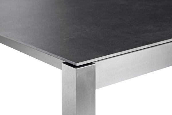 Tischbein und Tischplatte
