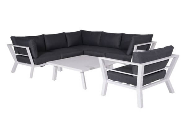 Loungemöbel Aluminium Set – Ganz Neue Kollektion 2019 – nur bei ZEOTTEXX
