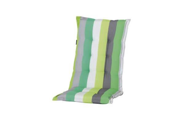 Polster-Auflage mit grünen Streifen