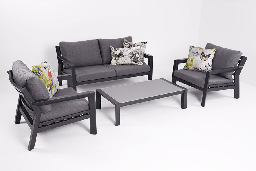 Loungemöbel aus Aluminium