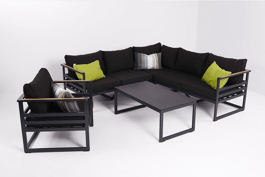 gro loungem bel aluminium galerie die besten. Black Bedroom Furniture Sets. Home Design Ideas