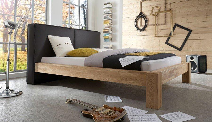 ZEOTTEXX Massivholz Bettgestell von MY BED – Kanas – Gesamtansicht