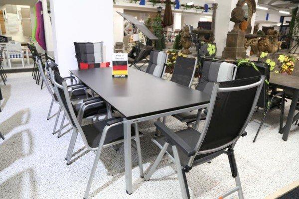 KETTLER Gartenstühle und Gartenliegen bei ZEOTTEXX Gartenmöbelausstellung in Bolheim