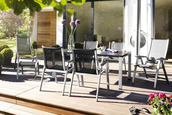 Gartentisch Gartenstühle von Kettler bei ZEOTTEXX Gartenmöbelausstellung in Bolheim