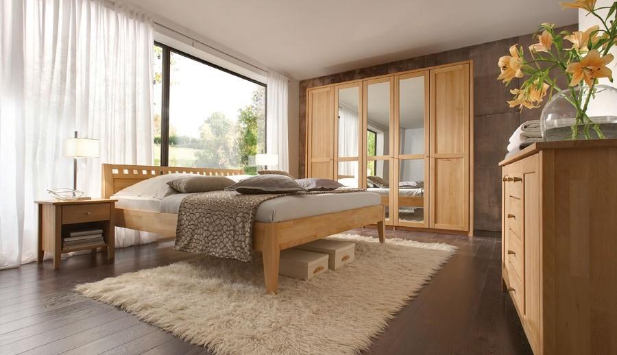 Moderne Massivholz Schlafzimmer und Beimöbel bei ZEOTTEXX